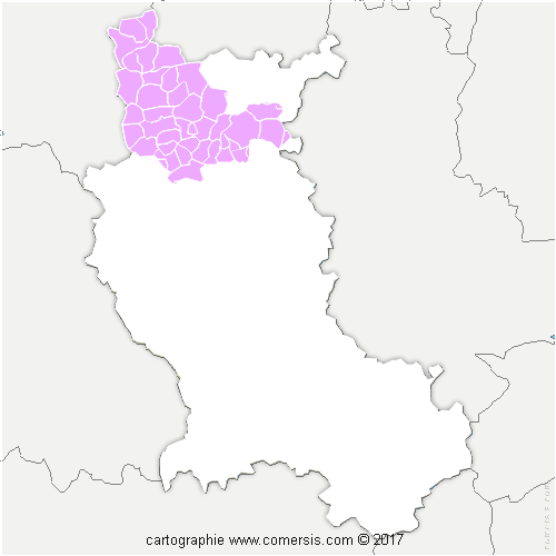 31e630f9271 ... Communauté d agglomération Roannais Agglomération cartographie